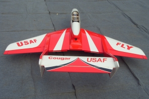 "76.8"" Cougar Jet Trainer Shipping Free (combo w/6kg ace turbine optional)"