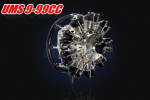 UMS 9-99CC GLOW RADIAL ENGINE (Pre order only)
